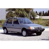 Repuestos De Peugeot 205 4 Puertas.