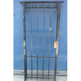 Reja para puerta exterior aberturas puertas exteriores for Precio de puertas de aluminio en rosario