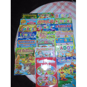 Sorpresitas Lote Libros De Cuentos Con Stickers 100 Unidades