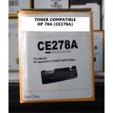 Tonercartucho Compatible Para Hp 78a (ce278a)