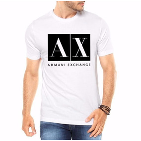 4127d28aa6c Camiseta Camisa Armani Exchange Masculina -100% Algodão