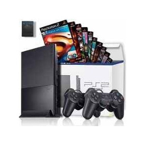 Playstation 2 Desbloqueado 1 Controle 3 Jogos