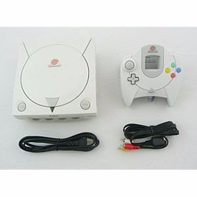 Dreamcast C/ 1 Controle + 10 Jogos!
