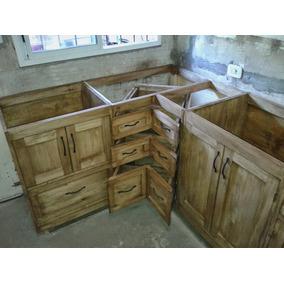 Placas Maderas Rusticas - Muebles de Cocina en Mercado Libre Argentina