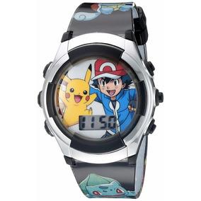 Envio Gratis Reloj Pokemon Pikachu Original Digital Niño dc37a5dcaf4d