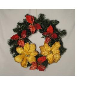 Coronas De Navidad Para Puertas Decoracin para el Hogar en