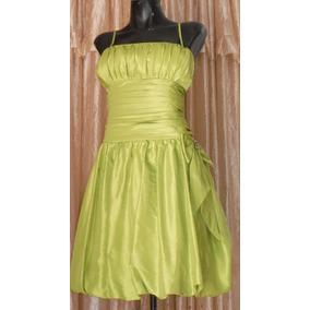 Lilasori Vestido Talla 36 Importado Aspeed Verde Manzana Rmt
