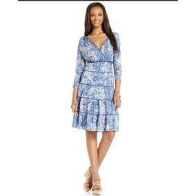 Vestido Dama Talla Chico\small\6-8 Style & Co. Stretch