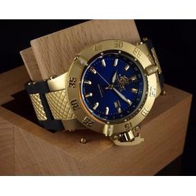 Jtime Invicta 1150 Noma 3 - Dourado Azul (12x S/juros)
