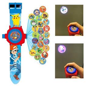 Pokemon Reloj Envio Gratis 24 Proyecciones Pikachu Niños 47316a2f8e9e