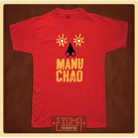 Exoma Remeras - Manu Chao / Mano Negra