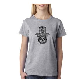 Remera Hamsa - Estampados Con Onda - Diseño Exclusivo