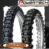 Cubierta Moto Cross Maxxis 110/100-18 M7305 Powertech