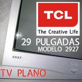 Tele Tv Pantalla Color 29 P Real Flat Sonido Mundial