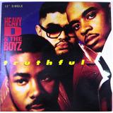 Heavy D. & The Boyz - Truthful Single Promo Import Usa Lp