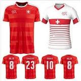 Camiseta De Fútbol De Suiza Alternativa Y Suplente 2016