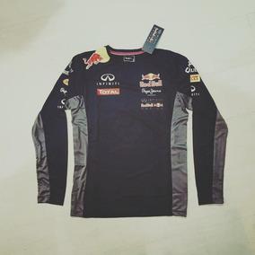 Camisa Manga Longa Da Red Bull - Camisa Casual no Mercado Livre Brasil e140fe94189