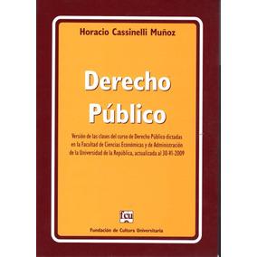 Derecho Público / Horacio Cassinelli Muñoz