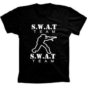 977e52c14b Camiseta Swat Barata Camisa Promocao Policia Team Adulto