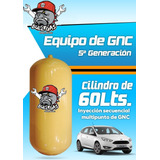 Gas Equipo De Gnc 5ta Genercion Con Cilindro 60lts Liviano
