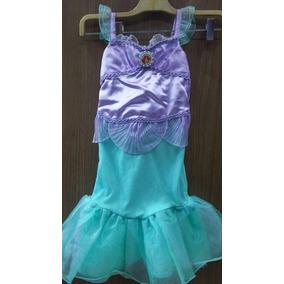 Vestidos, Princesas, Disney, Sirenita