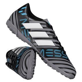 Chuteira adidas Nemeziz Messi 17.4 Tf Society Cinza por Futfanatics 747c63b3221cf