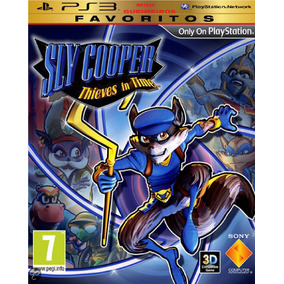 Ps3 Sly Cooper Thieves In Time Midia Digital Original