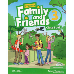 Family And Friends 3 - Class Book - 2nd Edition - Oxford