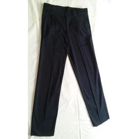 Pantalon De Vestir Hombre Azul Oscuro Talle 42 75a395a2269d