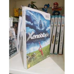 Xenoblade Chronicles - Com Luva - Wii - Novo Perfeito
