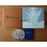 Moneda 1 Kilo Plata Libertad 2017 Mate Brillo Estuche Certif