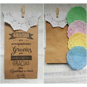 bdd74cb86 Bolsas Kraft Con Cintas - Souvenirs para Cumpleaños Infantiles en ...