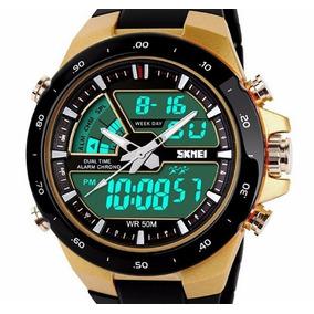 f22d51698f5 Relogio Ewc Dourado Masculino - Relógio Oakley Masculino no Mercado ...
