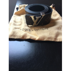 Cinturón 100% Original Marca Louis Vuitton Reversible