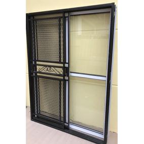 Aberturas puertas exteriores hierro en mercado libre argentina for Puertas corredizas de metal