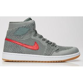 best sneakers ca4eb 63eb5 Nike Air Jordan 1 Flyknit Clay Verde Retro I High Og 919704