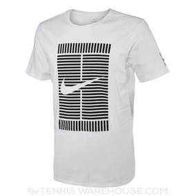 Remera Nike Logo Court Spring 18 White