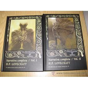 Lovecraft - Narrativa Completa. Valdemar. 2 Tomos Tapa Dura