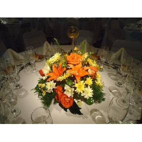 Arreglos florales centros de mesa arte y artesanas en mercado centro de mesa o arreglo floral de liliun y margaritas thecheapjerseys Image collections