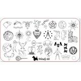 Placas Para Stamping Wendy N66 Game Of Thrones