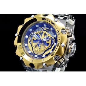 d1db21aead1 Relógio Invicta Venom 16807 Banhado A Ouro 18k 100% Original