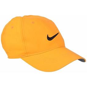 Gorra Nike De Golf Para Hombre Tamaño Ajustable-amarilla