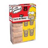 Torre De Beber The Simpsons Juego De Mesa Jenga Shots