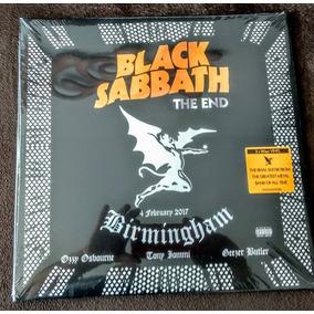 Black Sabbath, The End - Lp Triplo Importado, Pronta Entrega