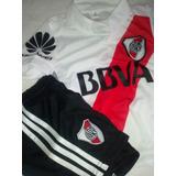 Nuevo Conjunto River Plate 2018 Camiseta-short- Para Niños