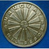 Tp 1969 Moneda De Mil Pesos Fao De Plata En Muy Buen Estado.