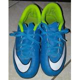 Taquetes Nike Mercurial P/niño