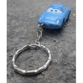 Vintage Llavero Coche De Coleccion Disney/pixar Cars Sally!