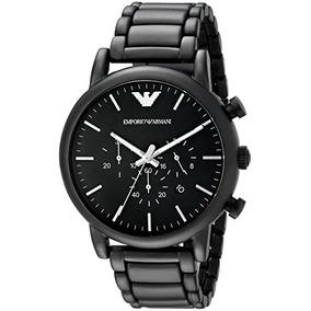 c96697a14b96 Relojes Negros Hombre Armani - Ropa