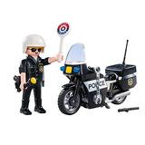 Figura Policía - Maletín Policía Con Accesorios - Playmobil